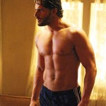 Alcide Herveaux True Blood shirt off