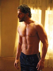 Alcide Herveaux True Blood scene with shirt off