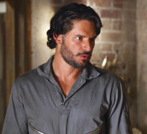 Playing Alcide on True Blood